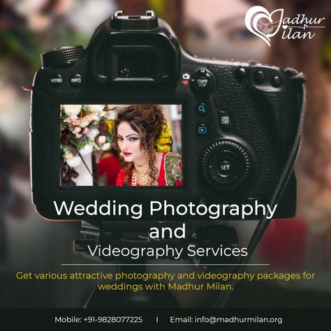 Get The Best Package For Wedding Photography And Videography At Affordable Rates Madhur Milan Enquiries Info Madhurmilan Org