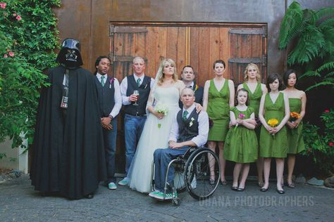 Star Wars Wedding At Stone Brewing Style Me Pretty Feature Love Pinterest Photographers And Weddings