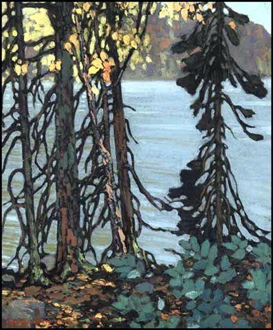 Canadian Group Of Seven Painter Frank Johnston Oilpainting Group Of Seven Artists Canadian Art Group Of Seven Art