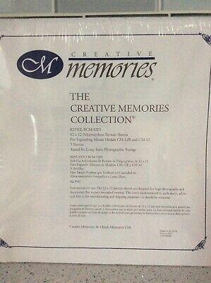 Creative Memories 12x12 Portrait Sleeves