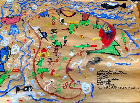 Noi della classe terza C Ciari: Le mappe del tesoro