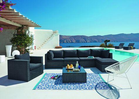 Tapis outdoor : notre sélection de tapis pour le jardin | Exterieur ...