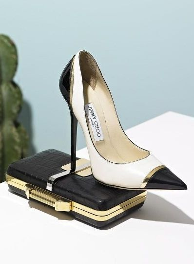 Sole desires: Jimmy Choo shoes.