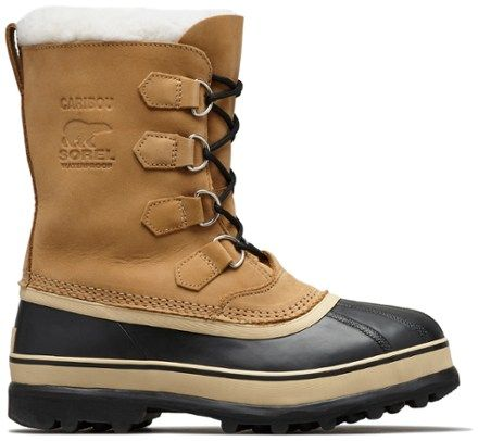 cortar saludo Cubo  Sorel Caribou Winter Boots - Men's | REI Co-op in 2021 | Mens winter boots, Snow  boots uk, Winter boots canada