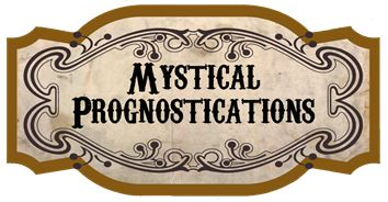 """Free Printable Madam Rue's Fortune Telling Machine Project """"Mystical Prognostications"""" Sign"""