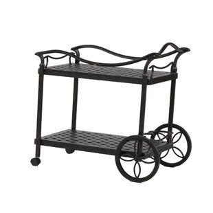 Andover Mills Cambron Caster Bar Serving Cart In 2020 Serving Cart Patio Bar Set Outdoor Bar Cart
