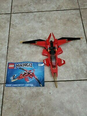 Lego Ninjago Kai Fighter 70721 With Manuals No Box Missing Characters If For Any Reason User Cannot Note Left Front Rudd In 2020 Ninjago Kai Lego Ninjago Ninjago