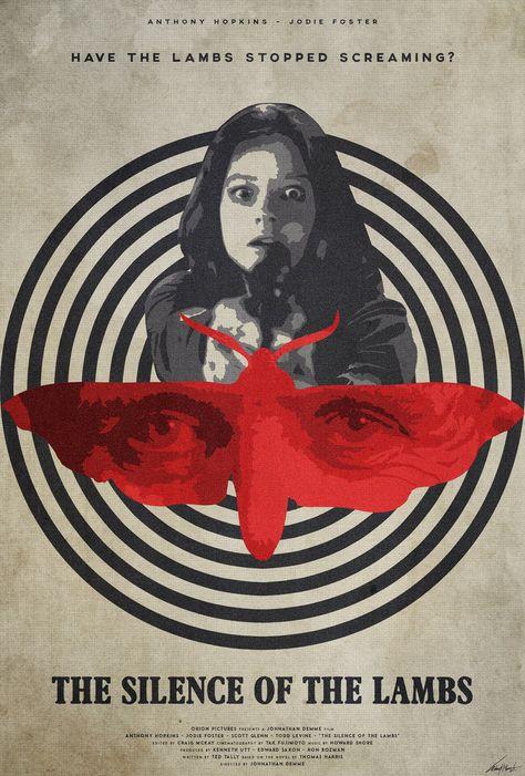 The Silence of the Lambs - movie poster - Edward Julian Moran II