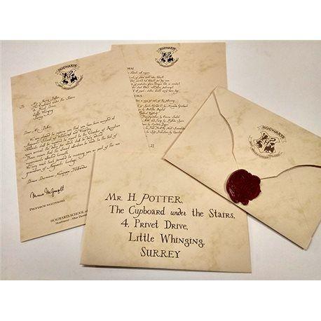 Personaliza Tu Carta De Howards Como Si Fueras Uno Más En La Escuela Solo Por 9 95 Carta De Harry Potter Carta De Hogwarts Tarjetas De Harry Potter
