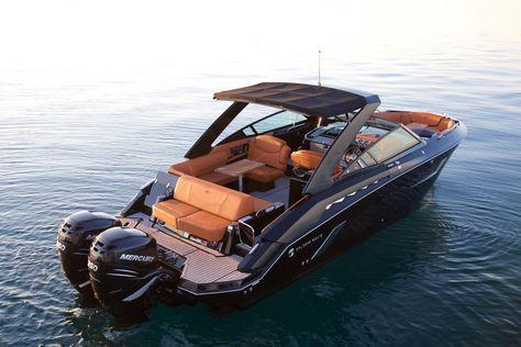 Yacht Design, Boat Design, Speed Boats, Power Boats, Bateau Yacht, Ski Nautique, Small Yachts, Cruiser Boat, Wakeboard Boats