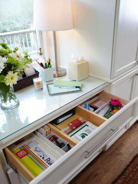 Has your kitchen drawer become a jumble of odds and ends? Make it work harder with these organizing tips.