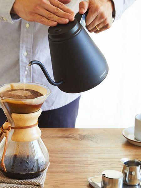 お家でカフェ気分が味わえるドリップケトル 2020 電気ケトル キッチン 家電 ドリップ