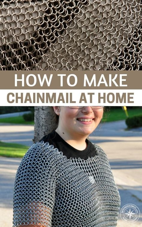 diy How To Make ChainMail At Home...