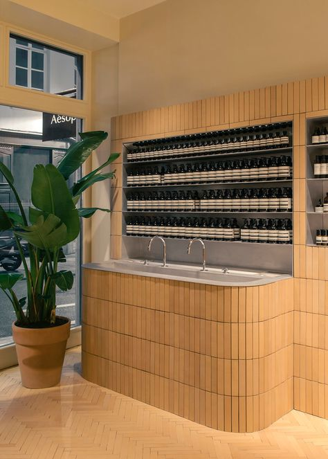 Brick by brick, Aesop has built its new store in Brussels
