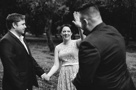 Come 'ere you  Eric & Rachel #marriedbyjosh in a private elopement in Byron Bay with the @elopementcollective and @morganrobertsweddings #byronbaycelebrant
