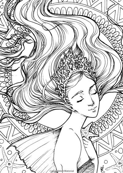 Best Mermaid Coloring Pages Coloring Books Mermaid Coloring Pages Mermaid Coloring Book Abstract Coloring Pages