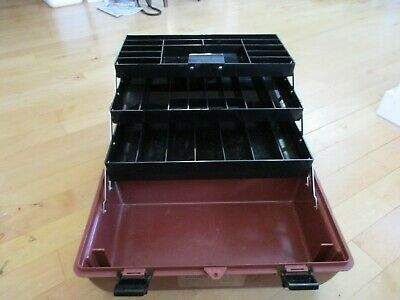 Ad Ebay Game Fisher Tackle Box Approx 19 Inches Long 10 1 2 Wide 11 High Plastic Container Storage Container Organization Fishing Equipment