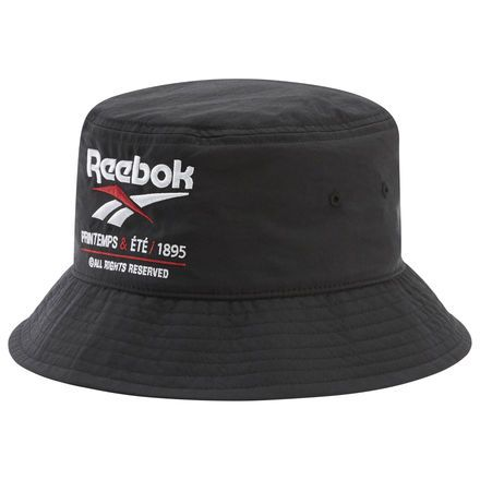 Reebok Classics Vector Bucket Hat Black Reebok Us Hats For Men Black Reebok Reebok