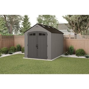 Craftsman Common 10 Ft X 7 Ft Actual Interior Dimensions 6 83 Ft X 9 92 Ft Craftsman Resin Storage Shed Gable Storage Shed Lowes Com Shed Shed Floor Garden Shed