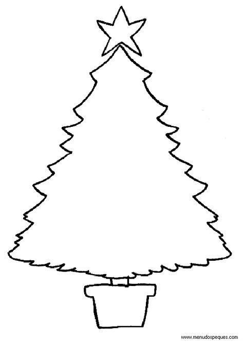 Colorear Navidad 48 Arboles De Navidad Arbol De Navidad Para