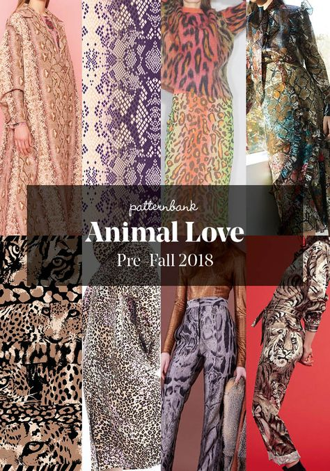 The Patternbank Team have beenanalysing the latest Pre-Fall2018 collections and have put together the strongest print trends alongside designs from thePatternbank Online Textile Design Studiothat perfectly complement eachstory. The Pre-Fall 2018 collections give us a sneak preview of what we can expect from the