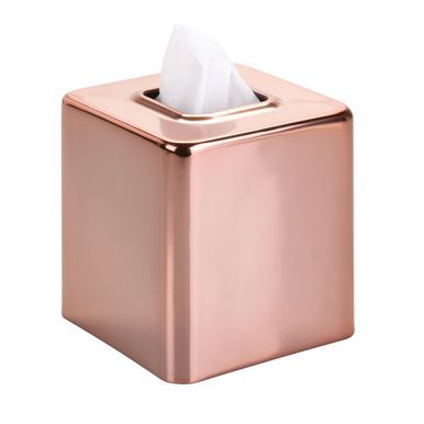 Metal Square Facial Tissue Box Cover Holder Tissue Box Covers