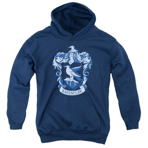 0455f83ddabab Youth Hoodie  Harry Potter Ravenclaw Crest Pullover Hoodie Size YL     Read  more reviews of the product by visiting the link on the image.