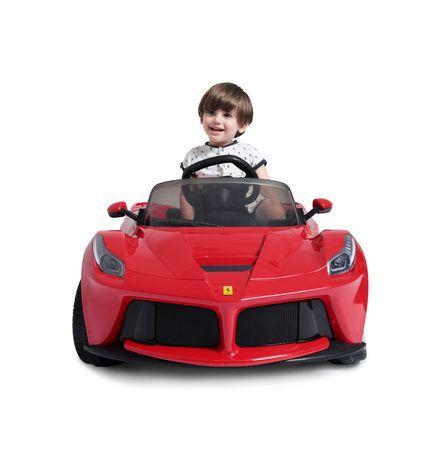 Rastar Ferrari Laferrari Kids Electric Remote Control Ride On Car Red Kids Ride On Ferrari Laferrari Car