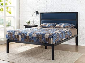 Box Spring Beds Without Headboard Wood Platform Bed Metal