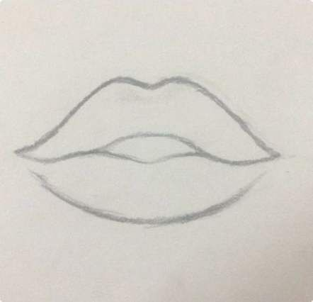 21 Ideas Drawing Easy Pretty For 2019 Lips Drawing Art Drawings Simple Pencil Art Drawings
