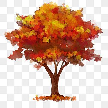 Otono Exuberante Arbol De Acuarela Clipart De Arbol Otono Arbol Png Y Psd Para Descargar Gratis Pngtree Watercolor Tree Autumn Trees Orange Background