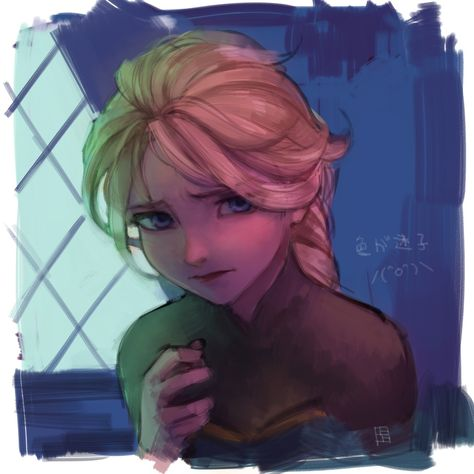 Elsa: Where is our son?  Loki: I don't know Elsa, I really don't . . . all we can do is hope. Так, причем тут Локи?