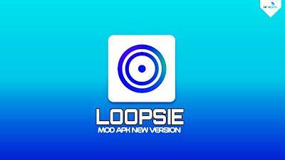 Download Loopsie Pro Mod Apk New Version 5 1 7 Unlocked Fullpack Pengeditan Foto Ponsel Aplikasi