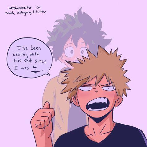 Izuku midoriya is a highschool nerd. who is always hanging out with t… My Hero Academia Shouto, Hero Academia Characters, Anime Characters, Deku X Kacchan, Boko No, Starco, Geek Humor, No Name, Boku No Hero Academy