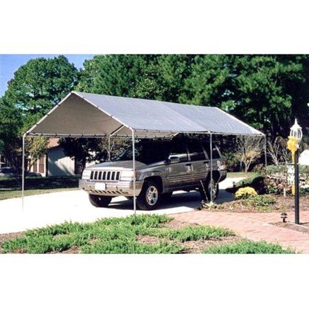 King Canopy 10 X20 Carport Canopy 6 Legs Walmart Com Gazebo Tent Carport Canopy Canopy Tent