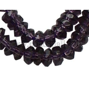Glass Beads Strands GS071-22-1