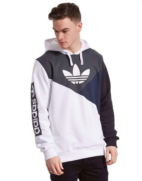 Adidas Men's Colorblock Hoodie