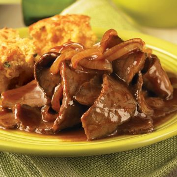 Bbq Beef Skillet With Cornbread Recipe Bottom Round Steak Recipes Round Steak Recipes Beef Skillet Recipe