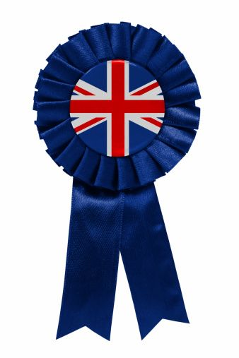 Image result for photos of british 1st place ribbon