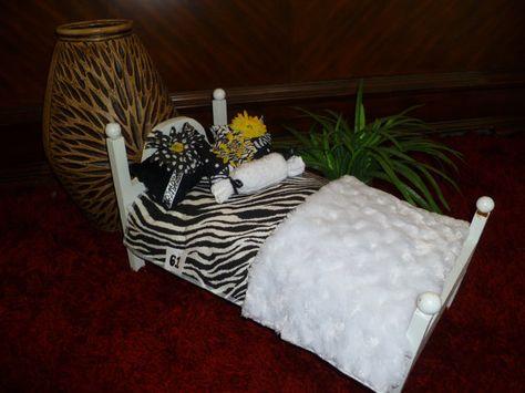AMERICAN GIRL DOLL Bedding Handmade Beautiful by sweetdreamzzz01,