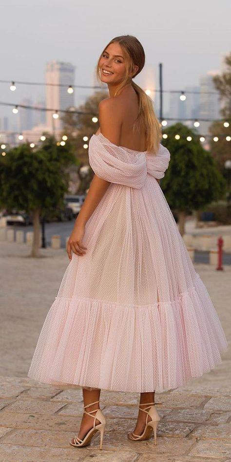 Wedding Bridesmaid Dresses, Boho Wedding Dress, Mode Rose, Satin Dresses, Blush Formal Dresses, Elegant Dresses, Strapless Dress, Beach Dresses, Dresses For Party
