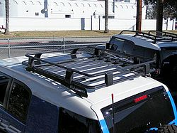 Arb Fj Cruiser Roof Rack Half Rack With Fit Kit Roof Rack Fj Cruiser Cargo Roof Rack