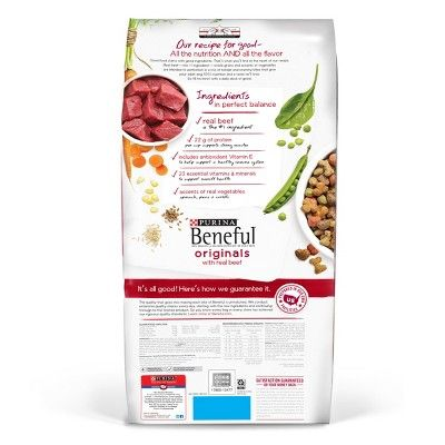 Purina Beneful Originals Real Beef Dry Dog Food 31 1lbs Size