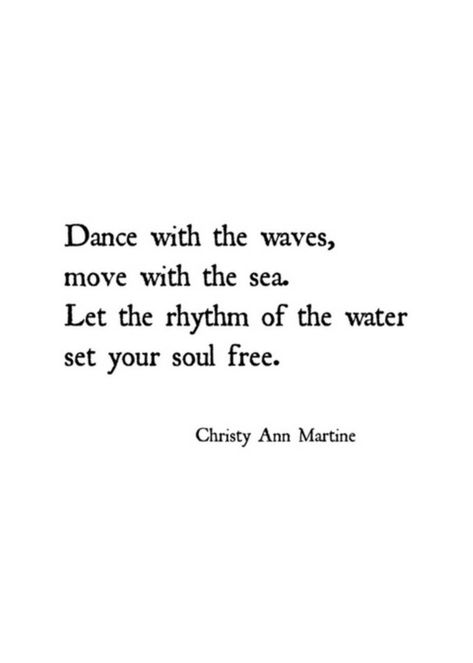 Beach Decor - Wall Art Decor - Beach Lovers Gift - Boho Ocean Art Print - Dance with the Waves Move Dance Quotes, Poem Quotes, Words Quotes, Life Quotes, Crush Quotes, Relationship Quotes, Ocean Poem, Ocean Quotes, Ocean Art