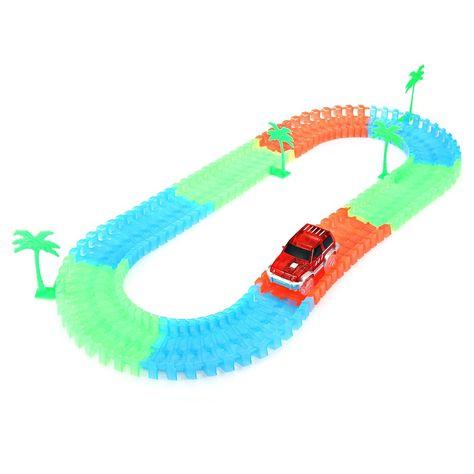Toys Race Tracks Toy Luminous Rail Car