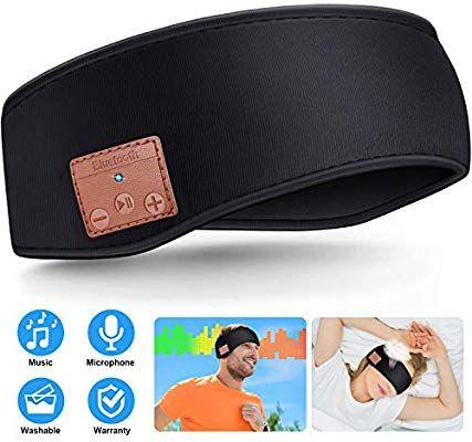 Sleep Headphones Bluetooth Headband Wireless Bluetooth 5 0 Headset Unisex Sports Headband Headphones M Sleep Headphones Bluetooth Headphones Sports Headbands