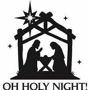 image about Nativity Clipart Free Printable known as Impression final result for Totally free Printable Xmas Silhouette Angel