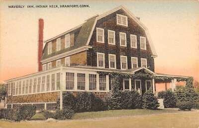 Indian Neck Branford Ct Waverly Inn Hotel Collotype Pub 1930 40 S Ebay Waverly Inn Pub Hotel