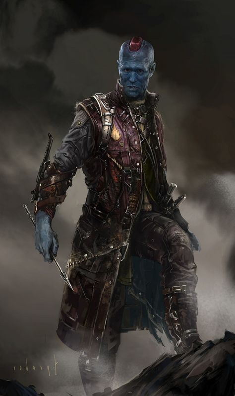 Guardians of the Galaxy Concept Art · Yondu Udonta