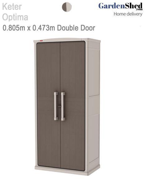 Optima Wonder Cabinet 0 805m X 0 473m X 1 778m Keter Sheds Locker Storage Tall Cabinet Storage